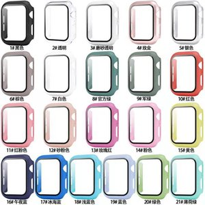Matte Hard Watch Case with Screen Protector for Apple iwatch Series 6 5 4 3 2 Full Coverage Case 38 40 42 44mm