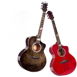 Accoustic Guitar Wood Professional Performance Bass Fingerboard Black Guitar Rosewood Guitarra Acustica Playing Tools EH50G