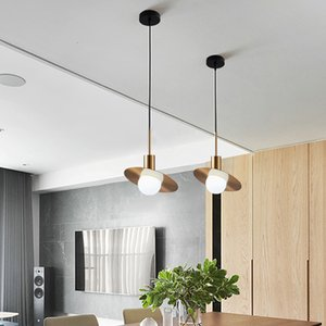 İskandinav cam topu LED küçük lamba odası dekorasyon altın avize asılı iç ışık lambaları 5jn3