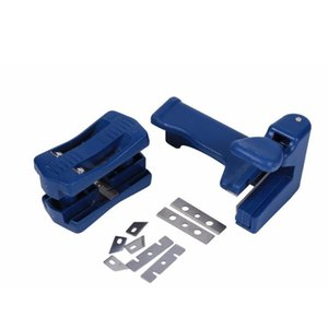 Attrezzature annaffiatori 2pcs / set Trimmer in laminato Doppio bordo Doppio Trimmer in PVC PVC