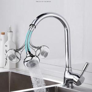 Bathroom Faucet Bubbler Kitchen Faucet Splash-Proof Head Water-Saving Shower Filter Shower Spray