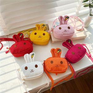 Симпатичные мини детские сумки мода кролик детские сумки девушки сумки для девочек дети сумка мессенджера дети кошелек девочек кошелек детская сумка