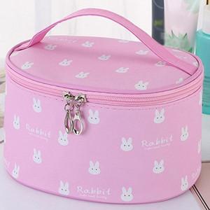 Women's Simple Large Capacity Oxford Cloth Storage Zipper Bag Cosmetic Bag Make Up Cosmetic Bags Big Capacity Box #G2 w5V2#