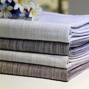 Table Cloth 47 Korean Cotton Linen Tablecloth Solid Color Light Blue Dust-proof Wedding Banquet Rectangular Cover