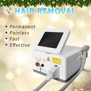 Yeni teknoloji Taşınabilir 755nm / 808nm / 1064nm Diod Lazer Epilasyon Makinesi Salon / Klinik / Ev Kullanımı için