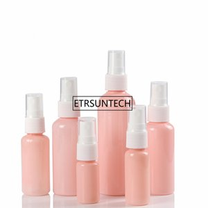 Empty Travel 100ml 60ml 50ml 30ml 20ml 10ml pink essential spray bottle Perfume Containers F2006