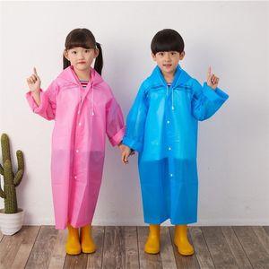 EVA hiking outdoor tourism primary school student children's raincoat