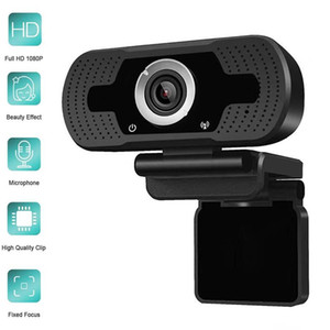 1080P 30Fps 2M Pixels Full HD USB Webcam Built-in Microphone Web Camera for Skype Youtube PC Laptop Cam