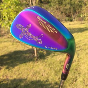 2021 New golf wedges datang dragon Crucifix wedges Forged 52 56 60 degree with Dynamic Gold S300 steel shaft 3pcs golf clubs