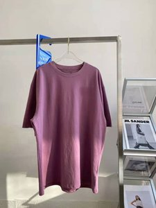2021 Hight Quality summer Women Letter Printed T-Shirts Purple Womens Oversize Short Sleeve Luxury Tees Top Designer New Clothes