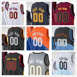 Custom Impress Isaac Okoro Kevin 0 Love Collin 2 Sexton Cedi 16 Osman Andre 3 Drummond Hombres Mujer Mujeres Niños Camisetas de baloncesto