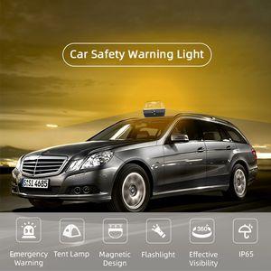 Help Amber Color burner Waterproof 360 visible range LED lamp Auto Security car safety Warning emergency flashing strobe light