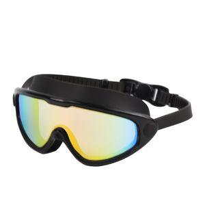Большие рамки плавательные очки SILE высокой четкости против тумана очки водонепроницаемый большой поле для плавания Оборудование для плавания