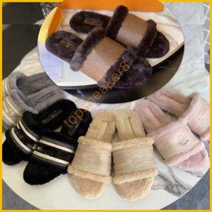 Women Paris Cotton Slippers Love Winter sandal Winter Black Brown White Pink Coffee Slipper