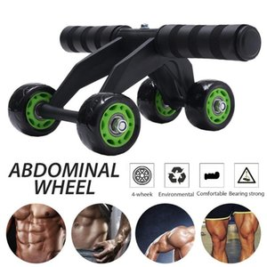 Training Equipment Abdominal Roller Wheel Exercise Ergonomic Ab Workout Muscle Trainer For Home Gym
