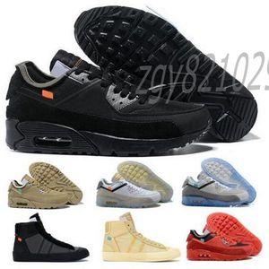 Off 90 cuscino da uomo scarpe da corsa Prestos Mac Volt Volt Blue Blue Fly 2.0 Strada Trainer Donne Camminare Desert Desert Ore Triple Black White Racer Sneakers 36-46 cv6