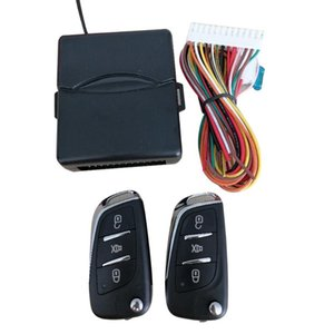 Alarm & Security Universal Car Auto Keyless Entry System Button Start Stop LED Keychain Central Kit Door Lock With Remote Control