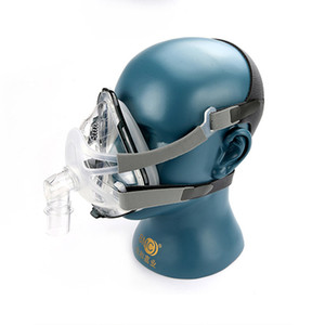 CPAP F1A Mask Respirator Ventilator Full Face Mask CPAP Apap BiPAP with Headgear Snoring Cessation Mask