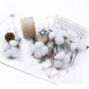 6 قطع 5 سنتيمتر الزهور الاصطناعية بالجملة القطن باقة عيد الميلاد الزخرفية الزخرفية الزهور الزفاف القابضة الزهور ho qyldbj