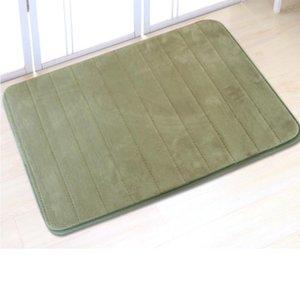 Carpets 1PCS 40x60cm Water Absorbent Soft Memory Foam Mat Carpet Bathroom Bedroom Floor Rug Non Skid Shower Room