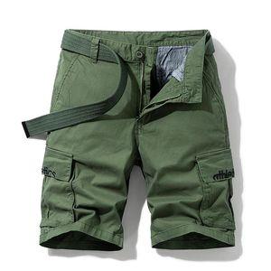Männer Strand Shorts 2021 Sommer Mode Herren Casual Camo Camouflage Kurze Hosen Männliche Bermuda Cargo Overalls