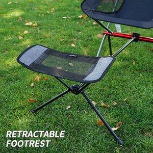 휴대용 야외 접이식 의자 바베큐 낚시 발판 안락 의자 캠핑 풋스트 개폐식 다리 의자
