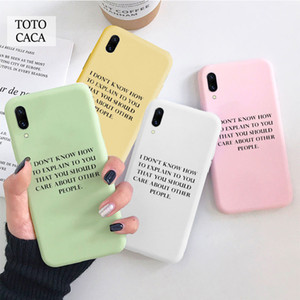 I Don t Know Soft phone case for iphone 11 Pro Max X XS XR 6S 7 8 plus Cute cover fpr iphone SE 2020 coque