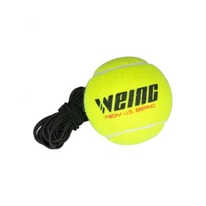 WEING flexible rope tennis training with a 58 inch rubber band coach tool string length 38m, quality brand
