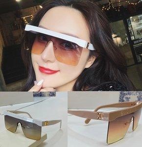 2021 Lüks Erkekler ve Kadınlar için En Kaliteli Güneş Gözlüğü Evrensel Klasik Moda Kare Çerçeve Yaz Güneş Gözlüğü Gözlük Tasarımcı Yüksek Qualit