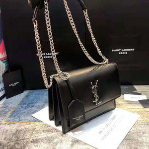 SAINT LAURENT multiple styles Genuine Leather Ladies purse Luxury YSL bags Designer Bags Fashion shoulder bag metal chain Cross Body