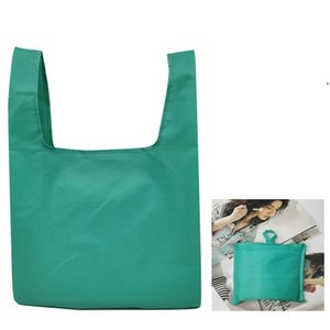 Folding Shopping Bag Portable Reusable Bag Waterproof Storage Oxford Cloth Bags BWE8857