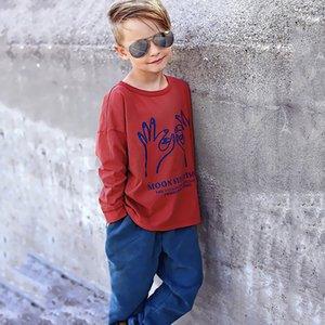 Ins 2020 Bobo Kids T-Shirt Girls Boys Shirts Boy For Girl Baby Tshirt Cartoon Tee Enfant T Shirt Funny Children Clothes 0308