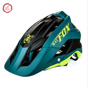 Casque de vélo Batfox / Beaver Beaver Casque de vélo de montagne intégré Helmet de cyclisme F-659 PC + EPS AQHI004