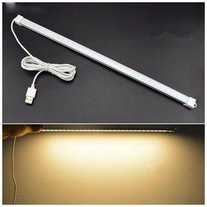 DC 5V USB Desk Lamp Led Table Light 3 Colors White Warm White Eye-protected Study Lamps Daily Lighting Night Light For Bedroom