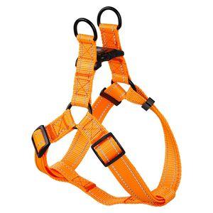 Flourescent color Nylon high quality dog harness