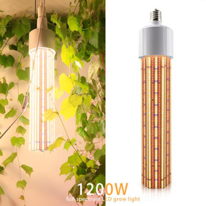 E40 1200W LED Grow Light Corn Bulb Full Spectrum Warm Led Plant Lamp for flower indoor plants growth greenhouse grow tent