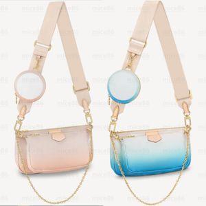 Top quality Women's men Crossbody Genuine leather Bags tote fashion MULTI POCHETTE ACCESSOIRES Shoulder bag wallet Purse Luxury Designer Handbags hobo Handbag