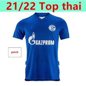 2021 2022 Schalke 04 camisas de futebol casa serdar ozan harit raman bentaleb mc kennie futebol camiseta kutucu