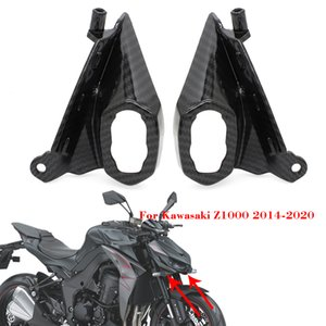 Motorcycle Front Turn Light Upper Cowl Nose Fairing Cover Frames For Kawasaki Z-1000 Z1000 2014 2015 2016 2017 2018 2019 2020