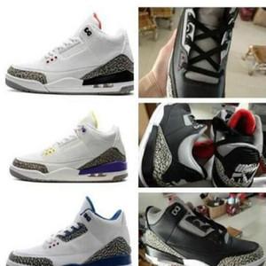 2021 баскетбольные туфли 3 3S UNC Blue PE Mocha Katrina Спортивные кроссовки Knicks Rivals Jumpman 3M Tinker SP Black Cement отражающие серые обувь