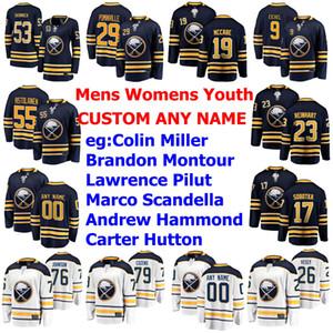 Buffalo Sabres Jerseys Womens Colin Miller Jersey Brandon Montour Lawrence Pilut Scandella Andrew Hammond Hockey Jerseys Custom Coinded