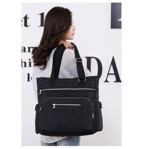 Bolsa de lona moda feminina feminina bolsa de ombro messenger bag luz crossbody bolsas para meninas senhoras balde saco de alta qualidade C0224