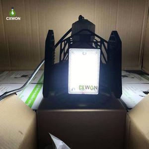 Garage Light 120W 150W 200W E27 LED Lamp 85-265V Deformable Ceiling Light 4 Leaf Workhouse Working Light