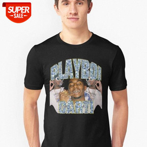 Playboi Carti Vintage 90s Style Print Men Vintage T Shirt O-neck Casual Cotton T-shirt Man Woman Tees Tops Sweatshirt XS-XXXL #2k6V