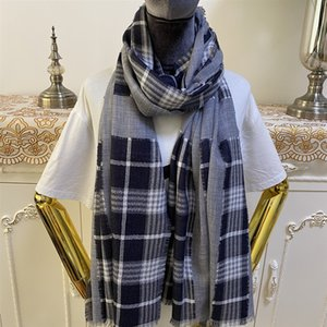 New style good quality 100% cashmere material thin and soft check, Plaid & Tartan long scarves for women big size 205cm -92cm