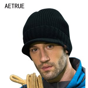 Brand Beanies Skullies Winter Hat Knitted Caps Winter Hats For Men Women Cap Warm Touca Bonnet Balaclava Casual New Beanie 210203