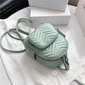 Бренд дизайнер роскошные женщины рюкзак мини мягкий прикосновение многофункциональный маленький рюкзак женские женские сумка сумка для девочки черный C0227