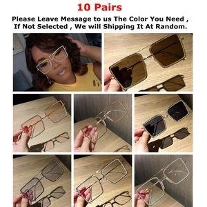 97365 WholesaleBluk Marco Gafas de sol Luxury Diamond Vintage Rose Oro Golden Para Mujer Eyewear Mens Oculos
