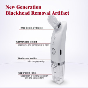 2021 Home Use Handled Blackhead Remover Microdermabrasion HydroDermabrasion Facial Clean Vacuum Suction Beauty Device