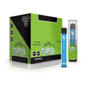Bang XL Одноразовые E-Cigarettes Vape Pen 600Уфуфты 2 мл Пустой картридж картридж 450 мАч Батарея E Cigarette Starter Kit